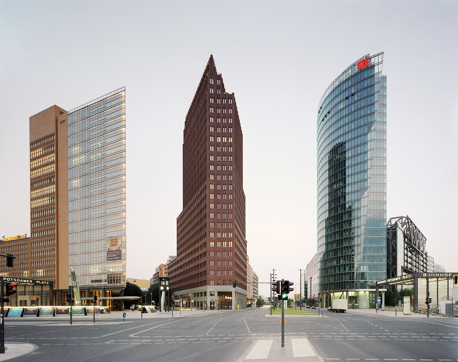 Architekturfotografie Studio Messberger Potsdamer Platz